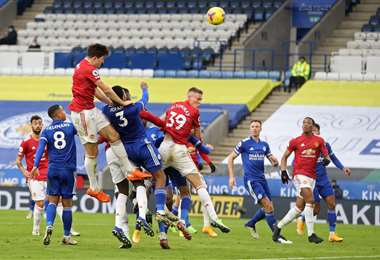 Leicester 2 - 2 Manchester United