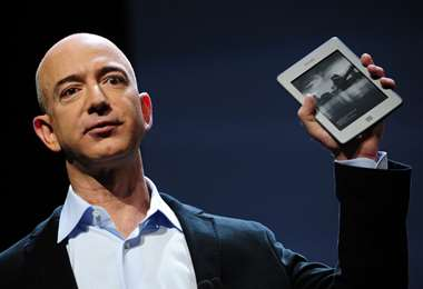 Jeff Bezos, fundador de Amazon